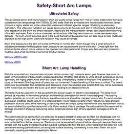 thumbnail of High Pressure Safety Page